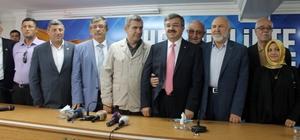 AK Parti İl Başkanı Yurdunuseven aday adaylığı için istifa etti