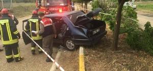 Denizli'de trafik kazaları: 1 ölü, 4 yaralı