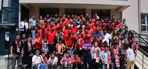 Uşak'ta özel gereksinimli çocuklar için etkinlik düzenlendi
