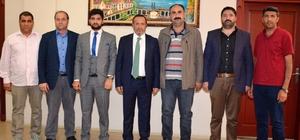 Taşlıçaylılardan Başkan Toltar'a ziyaret