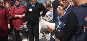 İtfaiyeden öğrenci yurdunda tahliye tatbikatı