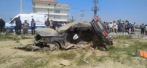Hafif ticari araç ile otomobil çarpıştı: 4 ölü, 2 yaralı Konya'nın Akşehir ilçesine bağlı Ortaköy Mahallesi'nde meydana gelen trafik kazasında aynı aileden 4 kişi hayatını kaybetti