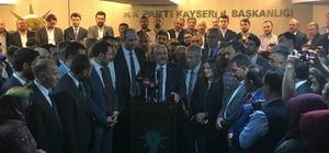 AK Parti İl Başkanlığından istifa eden Özden teşkilatından helallik istedi