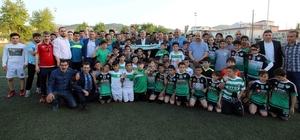 Başkan Karaosmanoğlu'ndan Hisareynspor'a ziyaret