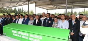 MHP'li Yalçın Gürgen son yolculuğuna uğurlandı