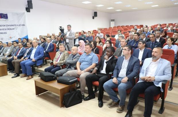 Elazığ'da iklim değişikliği ve adaptasyon çalıştayı