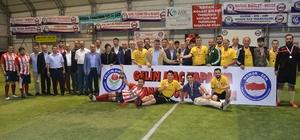 Eğitim Bir Sen'in düzenlediği futbol turnuvası sona erdi