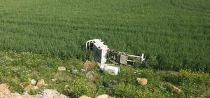 Sorgun'da motosiklet şarampole devrildi: 5 yaralı