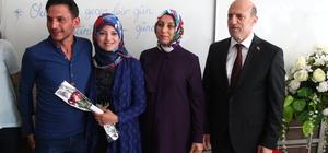 Suriyeli gelin okuma yazma hayalini gerçekleştirdi