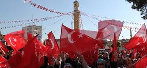 Çorum'da AK Parti ve STK'lardan İsrail vahşetine kınama