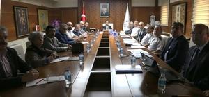 Nevşehir'de seçim güvenliği toplantısı yapıldı