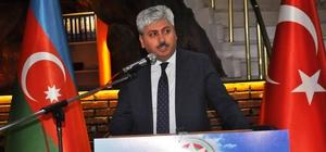 Kars'ta Azerbaycan'ın kuruluşun 100. yıldönümü resepsiyonu