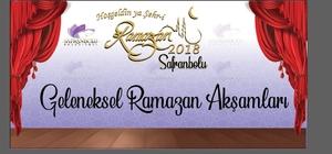 Geleneksel ramazan etkinlikleri başlıyor