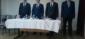 Daday'da muhtarlar toplantısı yapıldı
