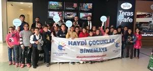Sason'daki öğrenciler sinema ile tanıştı
