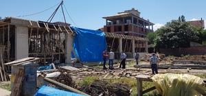 Tokat'ta inşaat çöktü: 2 yaralı