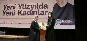 Yazar Ayşe Böhürler konuşmacı olarak katıldı