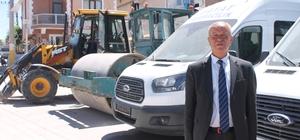 Kilim diyarı Bayat'ta yeni alınan 11 araç için kurbanlar kesildi