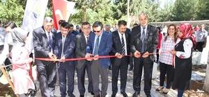 HRÜ teknik bilimler MYO'da taş atölyesi ve sergisi açıldı