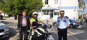 Boğazlıyan'da motosikletli şahin timi göreve başladı
