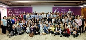 BİKAD Kadın Kooperatifi 6. kooperatifler İstanbul buluşmasına katıldı