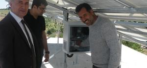 'Toprağımı Güneşle Suluyorum Projesi' hayata geçirildi