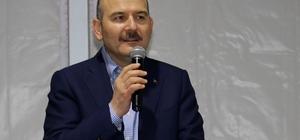 """Bakan Soylu Van'da İçişleri Bakanı Süleyman Soylu: """"Belediye binalarını örgütün servis noktası haline getirdiler"""" """"Bu terör perdesi Türkiye'de tamamen kapanacaktır"""""""