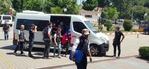 Nazilli'de FETÖ Operasyonu 8 kişi adliyeye sevk edildi