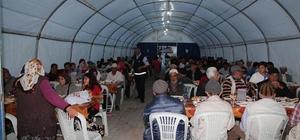 Sungurlu'da ilk iftar yapıldı