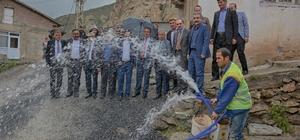 Hakkari'de kesintisiz 24 saat içme suyu dönemi başlıyor