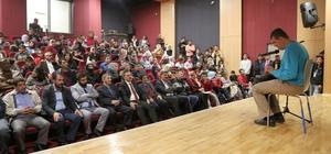 Ahlat'ta engelliler için konser verildi