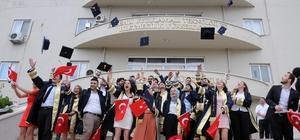 Erdemli UTİYO'da mezuniyet coşkusu