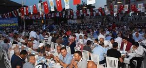 Hz. Danyal Meydanı'nda Ramazan coşkusu Başkan Can, ilk orucunu vatandaşlarla açtı