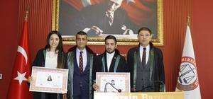 """Özdemir: """"Genç avukatlarımıza önem veriyoruz"""""""