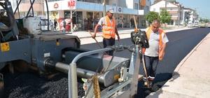 Kartepe FSM yolları asfaltlanıyor