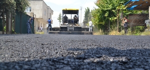 Erdemli'de sıcak asfalt çalışması