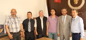 Akdeniz Belediye Başkanı Pamuk'tan MGC yönetimine ziyaret