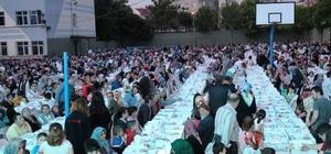 Gebze'de ilk iftar sofrası Arapçeşme'de kuruldu