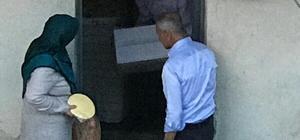 Başkan Dişli ilk iftarını yaşlı ciftin evinde açtı