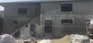 Köseköy'de camii şadırvanı tamamlanıyor