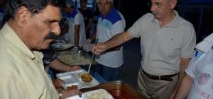 """İncirliova'da 25 bin kişiye iftar yemeği Başkan Kale; """"Ramazan bir olmak beraber olmak demektir"""""""