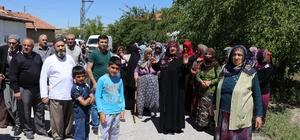 Malatya'da mahalleliden baz istasyonu tepkisi