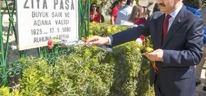 Ziya Paşa, vefatının 138. yılında törenle anıldı