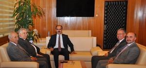NEÜ'den Başkan Altay'a hayırlı olsun ziyareti
