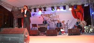 Geleneksel ramazan akşamları eğlencesi, Murat Belet'in konseriyle başladı