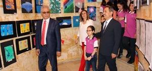 Nurdan ve Orhan Oğuz Orta Okulu'ndan resim sergisi