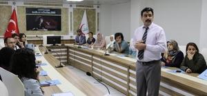 Adıyaman'da acil servis personellerine etkili iletişim eğitimi verildi