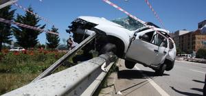 Giresun'da otomobil ile tır çarpıştı: 3 yaralı