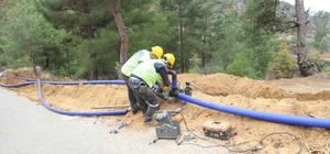 MESKİ, Anamur'da alt yapı çalışmalarını sürdürüyor