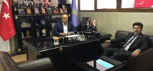 Rektör Karacoşkun, KESOB Başkanı Memiler'e hayırlı olsun ziyareti